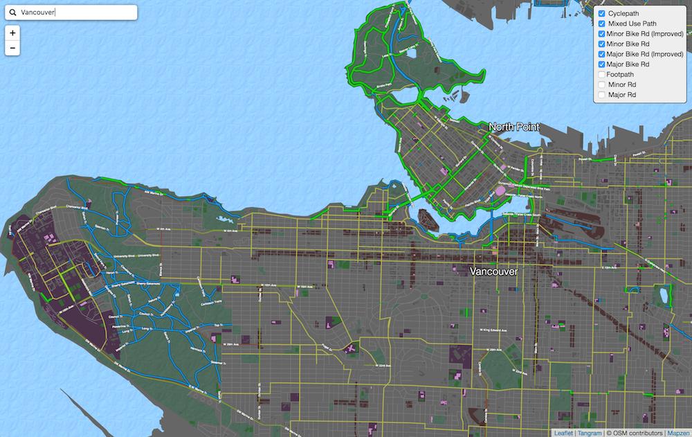 My Global Bike Map on
