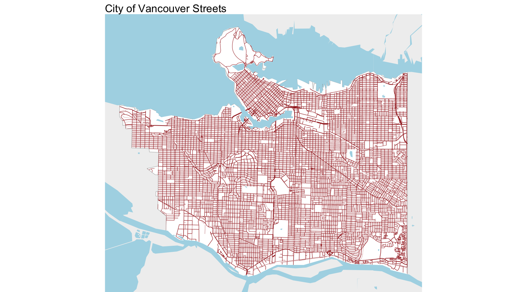Vancouver Streets and Lanes